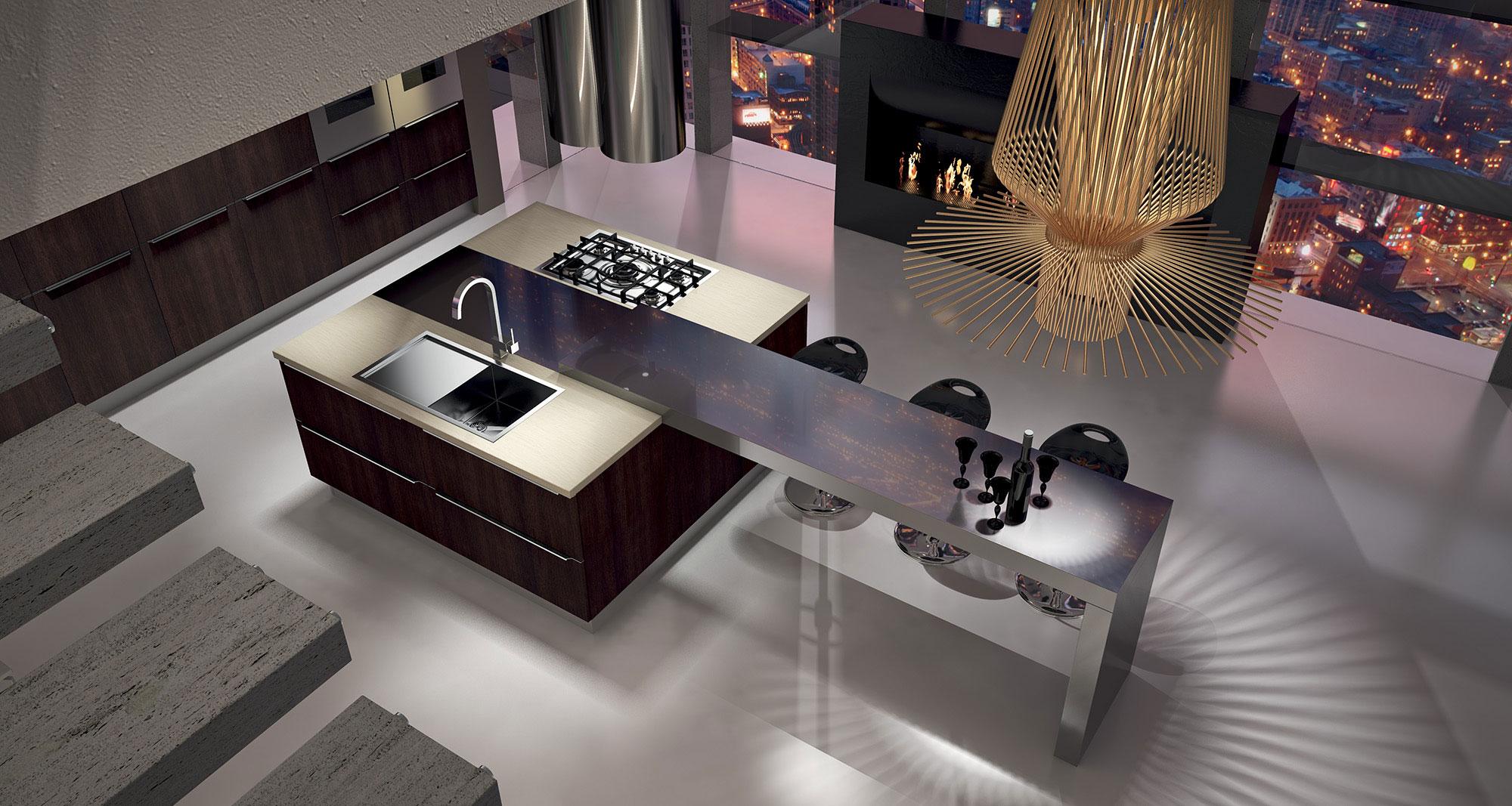 מטבח מודרני אריטל יושי ARRITAL YOSHI