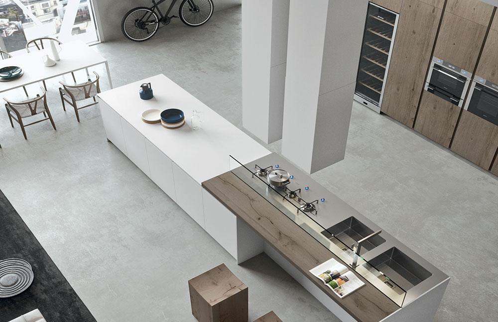 מטבח לופט מודרני אריטל LOFT KITCHEN ARRITAL AK04