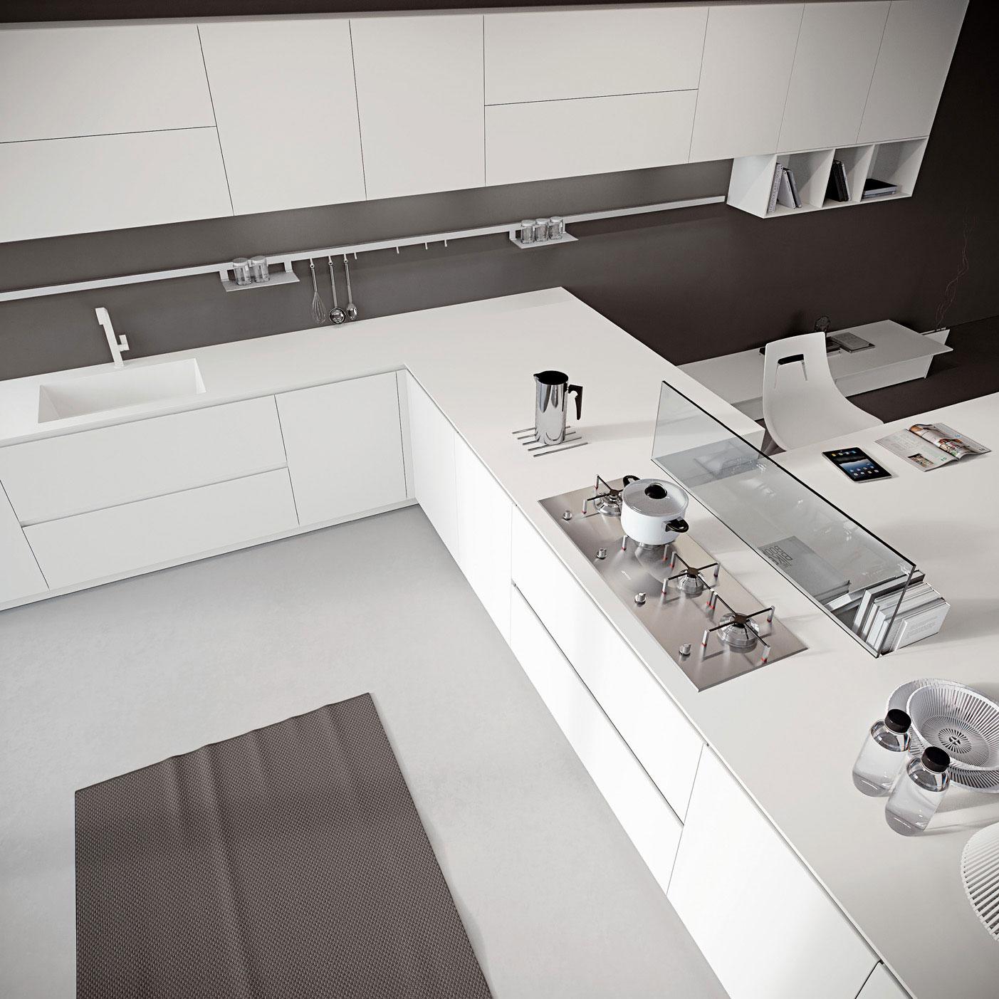 מטבח לופט מודרני אריטל AK04 ARRITAL